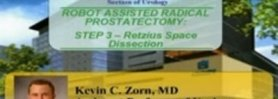Robotic Radical Prostatectomy - STEP 3- Retzius Space Dissection