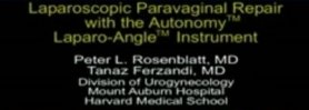Laparoscopic Paravaginal Repair with Autonomy Laparo Angle Instrument