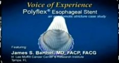 Polyflex® Esophageal Stent case studies and procedural footage - Dr. Barthel - Educational Surgery Videos