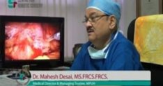 Dr. Mahesh Desai, Medical Director of MPUH - CRS, Urology Hospital in India