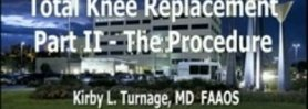 Total Knee Replacement Surgery - Update 2011