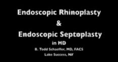 Nose Job HD: The Endoscopic Approach
