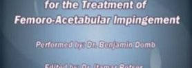 Open Surgical Dislocation for Femoroacetabular Impingement