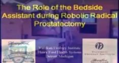 The Role of the Bedside Assistant during Robotic Radical Prostatectomy