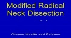 Modified radical neck dissection, Part 1
