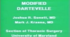 The Dartevelle Approach to Tumors