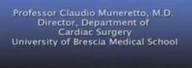 Claudio Muneretto, MD - Stand Alone Ablation