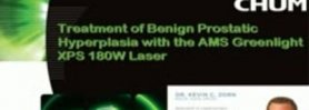 Greenlight XPS 180W Prostate Laser Treatment of Male BPH (Benign Prostatic Hyperplasia)